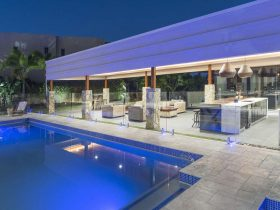 Outdoor and pool