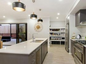 Kitchen – lighting, pendants & power
